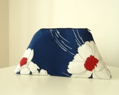 Floral Cosmetic Bag/Clutch/Purse