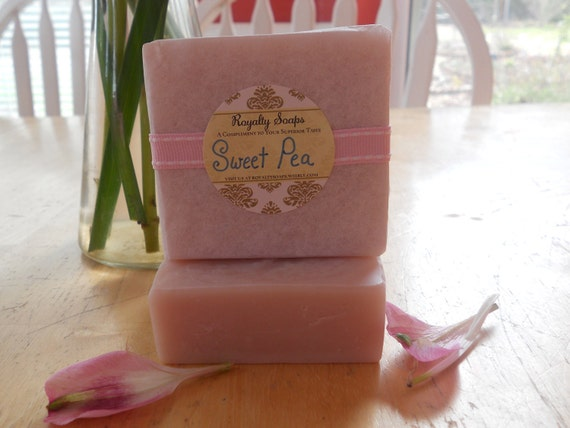 Bath and Body Works Sweet Pea Cold Process Soap
