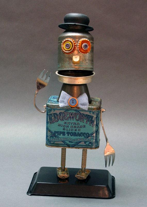 MR. HIGH GRADE - Found Object Assemblage Sculpture