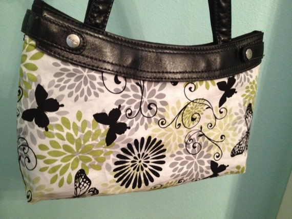 Product 31 - Reversible - Purse Skirt - Butterfly and Flowers