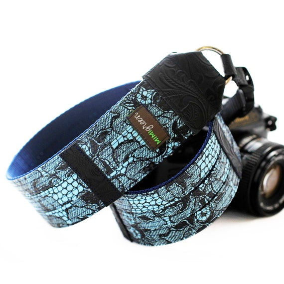Medianoche Designer Oilcloth DSLR Camera Strap with Quick Release Buckles