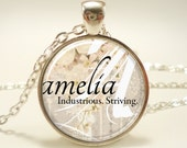 Custom Name Necklace, Handmade Personalized Name Jewelry (0725S1IN)