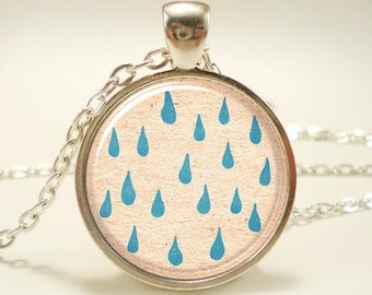 Rain Necklace, Silver Plate (0481S1IN)