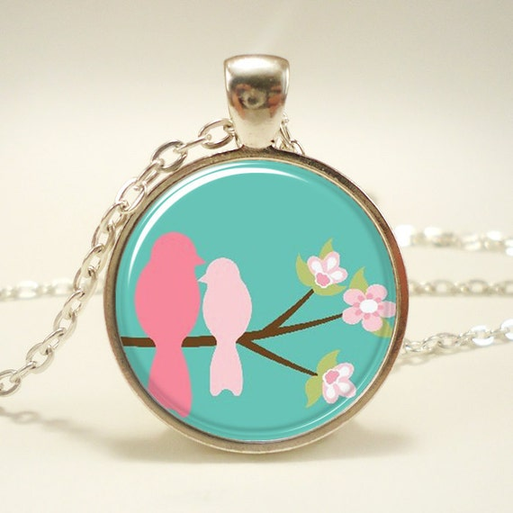 Mothers Day Gift Idea, Gifts For Mom, Bird Necklace (0674S1IN)