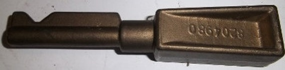 """6"""" Vintage Brass Reverser Handle for locomotive also known as a Train Key, Train Engine Key, Reverse switch"""