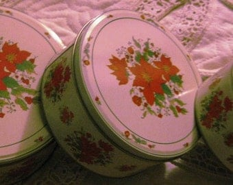 Vintage  Nesting Tins: Great Used condition