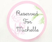 Reserved Listing - Michelle : 150 x Mini Shimmery Pink Cherry Blossom/ Sakura with Rhinestone Embellishment