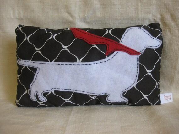 Super Dachshund Mini Pillow