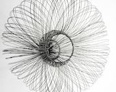 Concave Wire Wall Hanging, mild steel wire