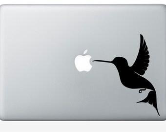 2 x Apple Birdie Num Num vinyl laptop decal (ID: 181013)
