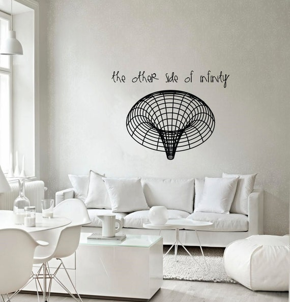 Science art astronomy black hole vinyl wall decal for your for Awesome science wall decals