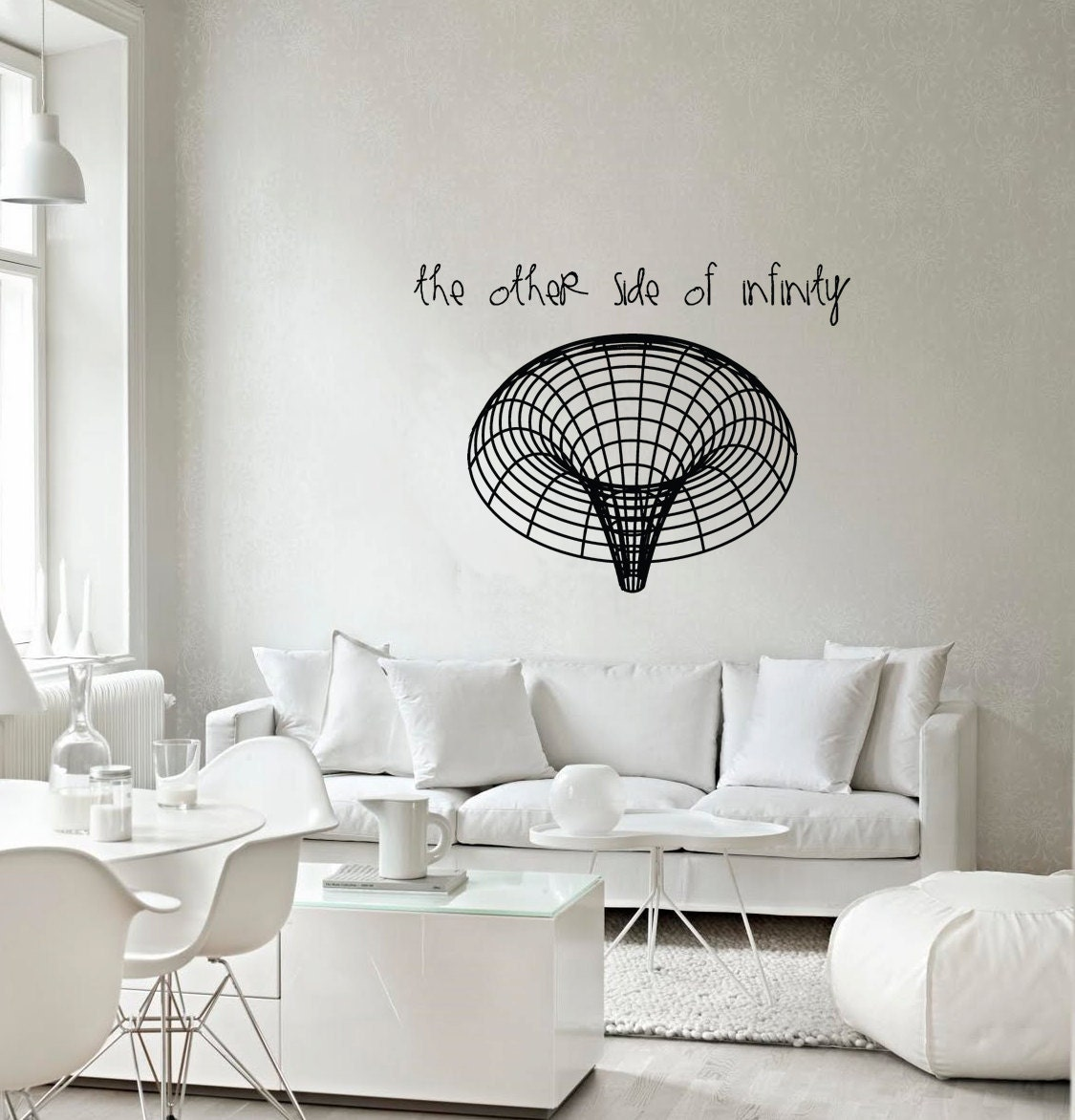 Science Wall Art science art astronomy black hole vinyl wall decal for your