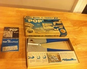Vintage USM (United Shoe Machinery) Pop Rivetool - WITH BOX - Rivet Tool