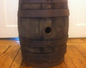 BARN FIND - Large Old Wooden Barrel - BALLER