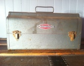 Vintage Craftsman Tool Box with Red Dividers - CRUSH THE CLUTTER