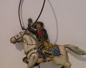 Rare Marx Toys Hopalong Cassidy Tin Litho Toy - AWESOME