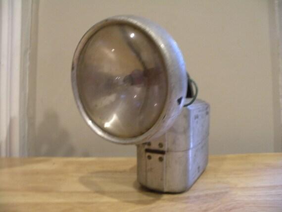 Vintage Aluminum Super VolKano Flashlight - Richberry Lamp