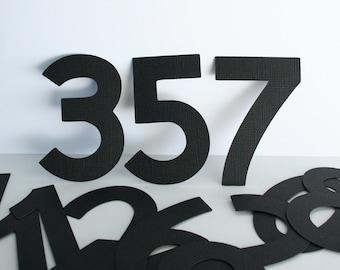 Die Cut Numbers 1 - 12 (3inch)
