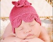 Ainsley Baby Hat - Knitting Pattern
