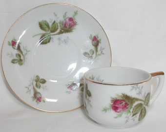 Norcrest Lithophane Cup and Saucer