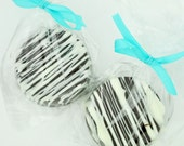 Chocolate Covered Colored Oreo Cookie Favors