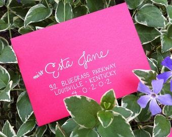 Envelope Addressing / Wedding Envelope Addressing / Modern Style Calligraphy / Modern Calligraphy Addressing / Envelope Addressing