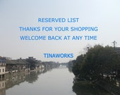 RESERVED LIST------for   Michlhu