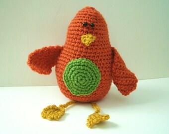 Crochet pattern PDF - Beaky the Bird