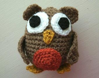 Crochet pattern PDF - Othello the Owl