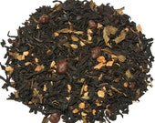 Peppermint Pattie Black Loose Leaf Tea (50 grams), Holiday Tea, Christmas Tea, Mint Tea, Desert Tea