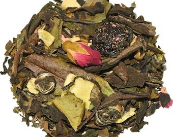 Cherry Geisha White Loose Leaf Tea (50 grams)