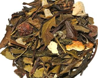 Lychee Garden Peach White Loose Leaf Tea (50 grams)