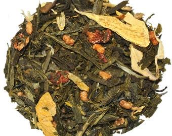 Strawberry Shortcake White Loose Leaf Tea (50 grams), Flavored Tea, Strawberry Tea