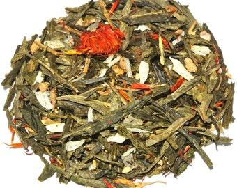 Coconut Ginger Calypso Green Loose Leaf Tea (50 grams)
