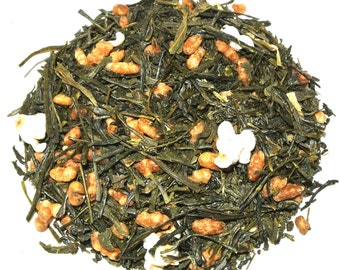 Genmaicha Green Loose Leaf Tea (50 grams)