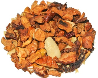 Enchanted Nut Fruit Tisane (50 grams), Nutty Tea, Holiday Tea, Fruit Tea, Caffeine Free Tea