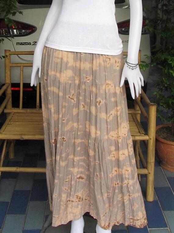 Tie dye Long skirt , Good design