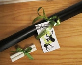 Chalkboard Adhesive Vinyl Roll - Make your own shapes or designs, cut with scissors or x-acto knife, Great for DIY Projects