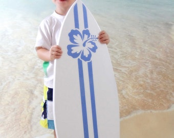 Wooden Surfboard Photography Prop