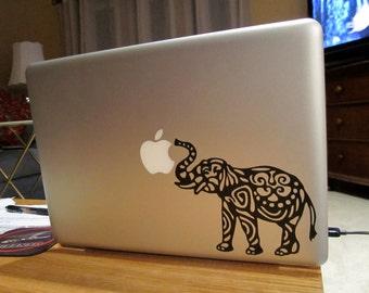 Elephant Laptop Decal