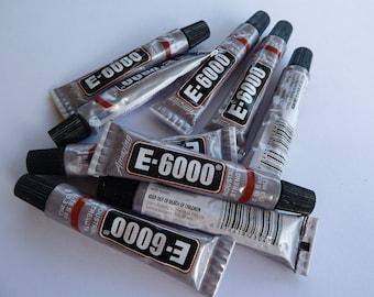 E6000 mini tube - superglue adhesive for jewelry making