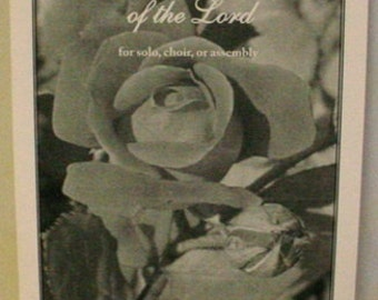 Sheet Music:  Come to the Table of the Lord