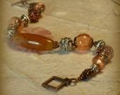 Beautiful Agate Gemstone Bracelet UK Seller
