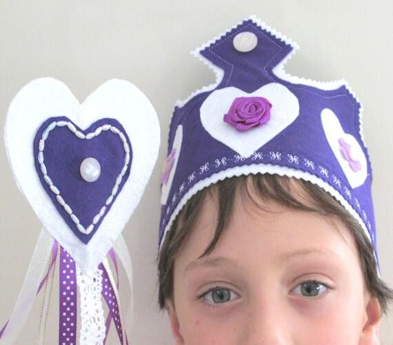 Princess Crown, Tiara, Fairy Wand, Fairy Party, Dress Up Princess