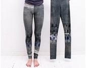 Size S: Fog grey leggings