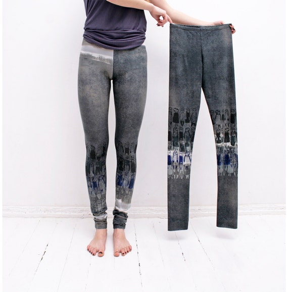 Size S: Fog grey leggings