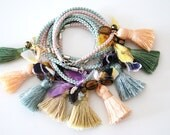 Silk & Tassel Bracelet