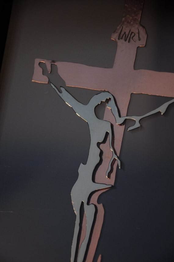 Crucifix under Glass - large