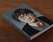 Hand Painted Harry Potter and the Sorcerer's Stone Daniel Radcliffe Portrait