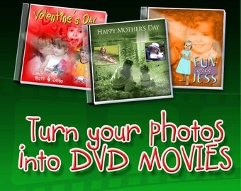 Custom Personalized DVD Photo Slideshow Video Montage